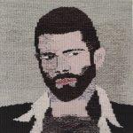 Portrait of an Artist 29x29cm.