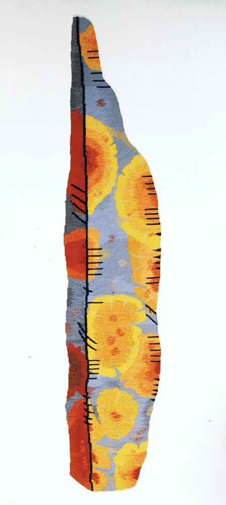 Lichen Ogham Stone